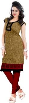 Anshul Textile Cotton Printed Kurti Fabric Un-stitched