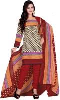 Vineberi Cotton Printed Dress/Top Material - Unstitched - FABDYUKBVNUFHQPR