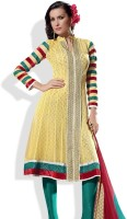Prafful Synthetic Salwar Material Fabric Unstitched