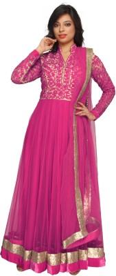 Nirali Net Self Design Salwar Suit Dupatta Material available at Flipkart for Rs.4725