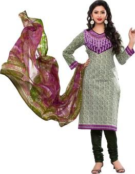 RK Style Cotton Printed Salwar Suit Dupatta Material Un-stitched - FABEG59JHZ4DKRMZ