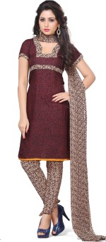 Vimush Fashion Crepe Printed Dress/Top Material Unstitched