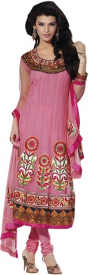 Hypnotex Net Self Design Salwar Suit Dupatta Material available at Flipkart for Rs.4795