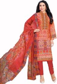 Mamtafashions Cotton Printed Salwar Suit Dupatta Material