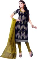 Shree Ganesh Cotton Printed Salwar Material Fabric Unstitched