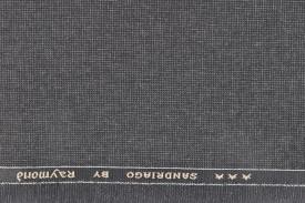 Raymond Cotton Polyester Blend Self Design Trouser Fabric