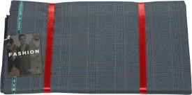 Vimal Polyester, Viscose Checkered Jacket Fabric