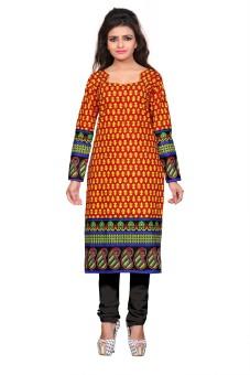 Nakoda Trading Cotton Printed Kurti Fabric Unstitched