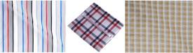 Rico Sordi Cotton Polyester Blend Checkered Shirt Fabric