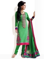 Strollay Synthetic Printed Salwar Material Fabric Unstitched