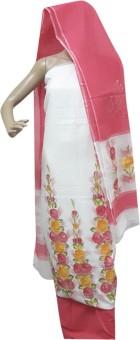 Kunal's Kota Silk Cotton Floral Print, Printed Kurta & Pallazo Material, Kurta & Churidar Material, Salwar Suit Material, Salwar Suit Dupatta Material Un-stitched