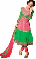 Vineberi Cotton Self Design Dress/Top Material Fabric - Unstitched