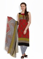 Aryahi Crepe, Synthetic Printed Dress/Top Material - Unstitched - FABEY2YPGE9AAWAF