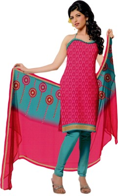 Salwar Studio Cotton Printed Salwar Suit Dupatta Material Unstitched