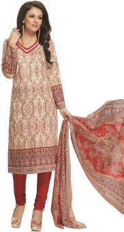 Design Willa Cotton Printed Salwar Suit Dupatta Material Un-stitched