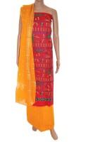 Fabrics Of India Cotton Printed Dress/Top Material - Unstitched - FABDWMREGGJG9XAJ