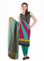 Aryahi Crepe, Synthetic Printed Dress/Top Material - Unstitched - FABEY2YPGJJMBXHS