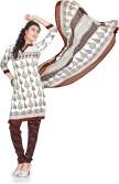 Vibes Cotton Printed Salwar Suit Dupatta Material
