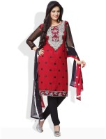 Shah Wah Synthetic Printed Dress/Top Material Fabric Unstitched