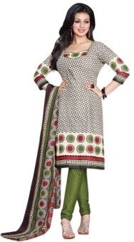 Amyra Cotton Printed Salwar Suit Dupatta Material Unstitched - FABEYGH74PRTDYGZ