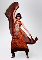 Adaa Silk Fabric Unstitched