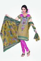 Minu Suits Cotton Printed Salwar Material Fabric Unstitched