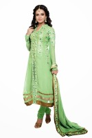 Anwesha Georgette Floral Print Suit Fabric Fabric Unstitched