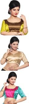 Pratami Cotton Silk Blend Solid Blouse Material Unstitched - FABE7D5Z3RYAEZBP