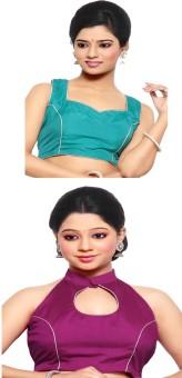 Pratami Cotton Silk Blend Solid Blouse Material Unstitched - FABE7D5ZDMZR8ZCU