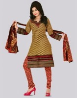 Dolly Cotton Printed Dress/Top Material Fabric Unstitched