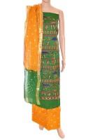 Fabrics Of India Cotton Printed Dress/Top Material - Unstitched - FABDWMREQVZUWZEN
