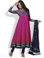 Prafful Synthetic Printed Salwar Material Fabric Unstitched