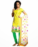Vineberi Cotton Printed Dress/Top Material Fabric - Unstitched - FABDWMJYFARYKZNF