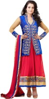 Bollywood Trends Georgette Self Design Semi-stitched Salwar Suit Dupatta Material - Unstitched