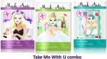 Maskeraide Face Packs Maskeraide Detox,Exfoliate & Eventone Masks