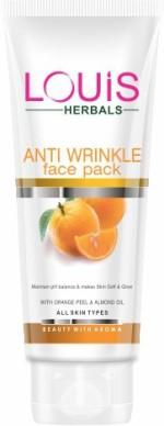 Louis Herbals Face Packs Lotus Herbals Anti Wrinkle Face Pack