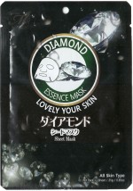 Mitomo Face Packs Mitomo Diamond Natural Sheet Mask