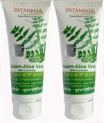 Patanjali Face Packs Patanjali Neem Aloe Vera with cucumber Face Pack
