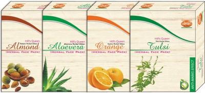 Khadi Face Packs Khadi Hill'S Queen Almond Aloevera Orange Tulsi Face Pack