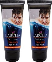 Labolia Faireness Face Wash For Men - 2 Nos. - (2 X 70 ML) (140 Ml)