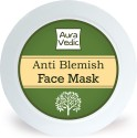 Auravedic Anti Blemish Face Mask With Neem Tea Tree Basil - 50 Ml
