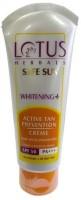 Lotus Herbals Safesun Whitening Active Tan Prevention Crème SPF-50 (50 G)