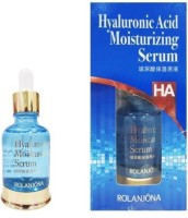 Rolanjona Hyaluronic Acid Moisturizing Serum Firming Powerful Hydrating Repair Dry Lines Shrink Pores Anti-Aging Skin Essence 30ml (30 Ml)
