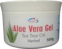 INSTO Aloevera Gel With Tea Tree Oil (500 G)