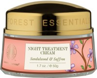Forest Essentials Night Treatment Cream Sandalwood & Saffron: Face Treatment