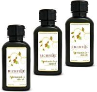Richfeel Vitamin E++ Skin Oil 100ml (Pack Of 3) (300 Ml)