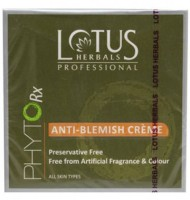 Lotus Herbals Lotus Professional Phytorx Anti Blemish Cream (50 G)