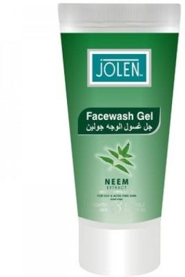 Jolen Face Washes Jolen Facewash Gel Neem Extract Face Wash