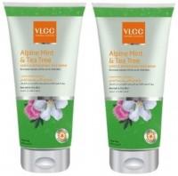 VLCC Alpine Mint & Tea Tree Gentle Refreshing Pack Of 2 Face Wash (350 Ml)