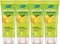 Joy Skin Fruits Fairness (Lemon) (Pack Of 4 X 50 Ml) Face Wash (200 Ml)